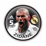 Bot�o do Real Madrid - Zidane